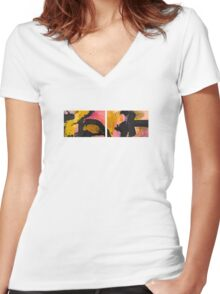 untitled 04 Women's Fitted V-Neck T-Shirt