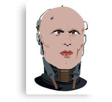 cross-eyed's robocop Canvas Print