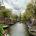 Leidsekade, Amsterdam by Ludwig Wagner
