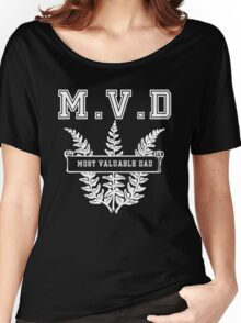 Most valuable Dad MVD Women's Relaxed Fit T-Shirt