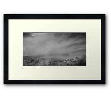Cloud Cover Framed Print