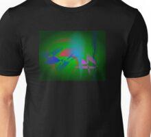 Green Earth Abstract Art Unisex T-Shirt