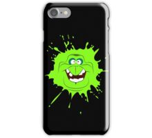 Cartoon style slimer (Ghostbusters) iPhone Case/Skin
