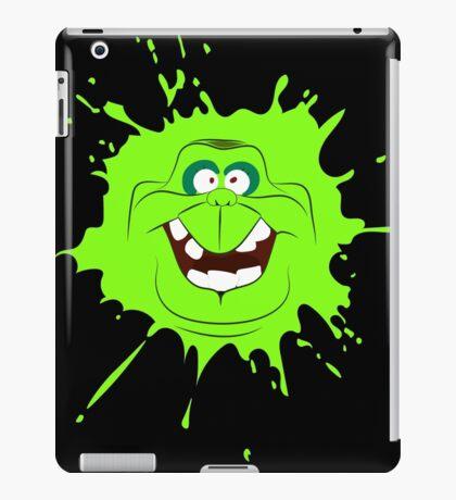 Cartoon style slimer (Ghostbusters) iPad Case/Skin