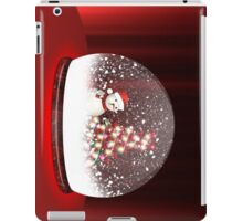 Happy snowman 2 iPad Case/Skin