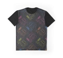 Megadrive outlines (white) Graphic T-Shirt