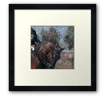 Unofficial Dressage Day Framed Print