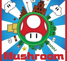 Mushroom Kingdom by GraphXninja