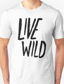 Live Wild: Ocean Unisex T-Shirt