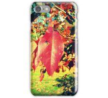 Leaf Me Alone 1.0 iPhone Case/Skin