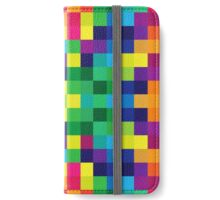 Colorful Geometric Background II iPhone Wallet/Case/Skin