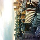 Tokyo Sunset by adikt