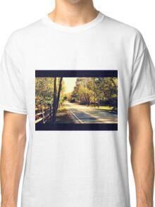 Autumn Road 1.1 Classic T-Shirt