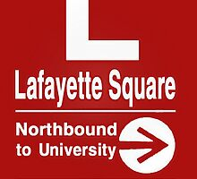 Lafayette Square Northbound by GasStationB
