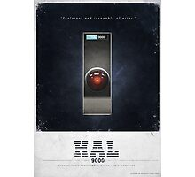 HAL 900 Advertisment Photographic Print