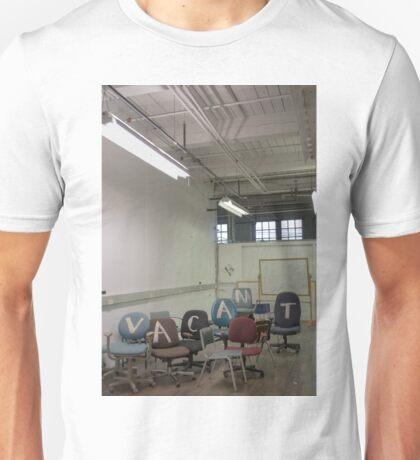 VACANT Unisex T-Shirt
