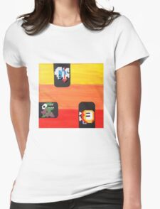 Dig Dug (Paint 'N' Beads) Womens Fitted T-Shirt