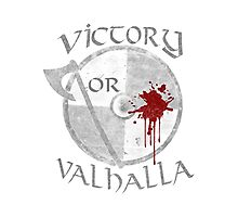 victory or valhalla (2) Photographic Print