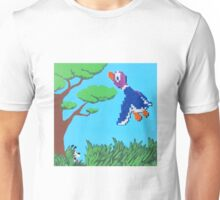 Duck Hunt Purple (Paint 'N' Beads) Unisex T-Shirt