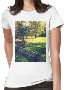 Zig Zag Fenced 1.0 Womens Fitted T-Shirt