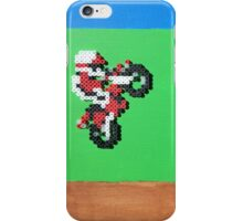 Excitebike (Paint 'N' Beads) iPhone Case/Skin