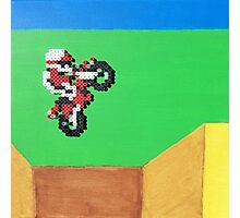 Excitebike (Paint 'N' Beads) Photographic Print
