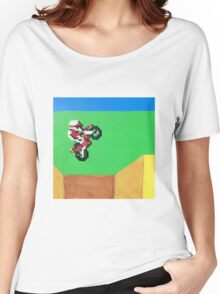 Excitebike (Paint 'N' Beads) Women's Relaxed Fit T-Shirt