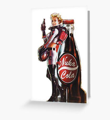 Fallout - Nuka Cola Greeting Card