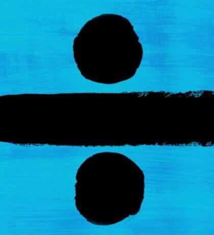 Ed Sheeran - '÷' Divide Album Art Sticker
