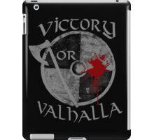 victory or valhalla (2) iPad Case/Skin
