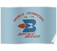 World Champion Braves Poster