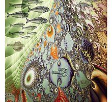Fractal Great Barrier Reef by walstraasart