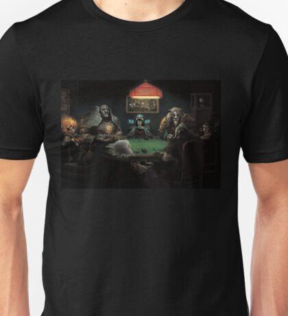 Planeswalkers playing Magic Unisex T-Shirt