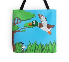 Duck Hunt Brown (Paint 'N' Beads) Tote Bag