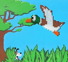 Duck Hunt Brown (Paint 'N' Beads) by christiantyner