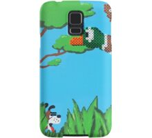 Duck Hunt Brown (Paint 'N' Beads) Samsung Galaxy Case/Skin