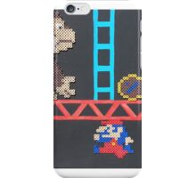 Donkey Kong & Jumpman (Paint 'N' Beads) iPhone Case/Skin