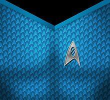 Star Trek Series - Scientist Suit - Spock by robozcapoz