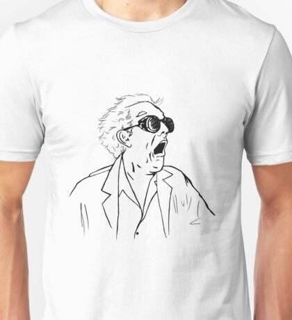 Back To The Future Doc Emmett Brown Sketch Unisex T-Shirt