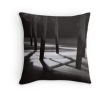 Pier - Pawleys Island, SC Throw Pillow