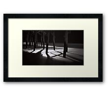 Pier - Pawleys Island, SC Framed Print