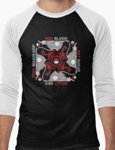 Blood Sugar Sex Magikarp - Black Men's Baseball ¾ T-Shirt