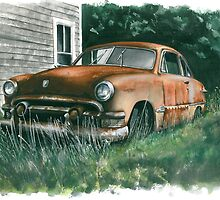 Back Yard Ford by Anthony Billings