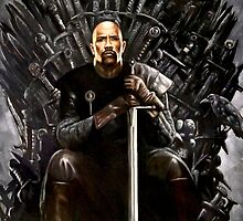 The Rock - Game of Thrones - Iron Throne by zenoconor