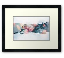 Winter Paint Framed Print