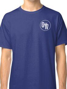 White GlydeTV Logo Classic T-Shirt