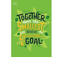 Greatest Goal Photographic Print