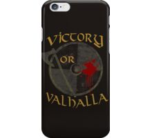 victory or valhalla (3) iPhone Case/Skin