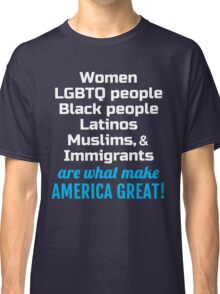Womens March - Immigrants make America Great Classic T-Shirt