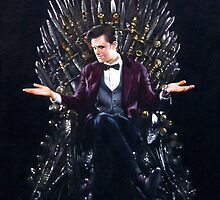 Doctor Who - Game of Thrones - Iron Throne by zenoconor